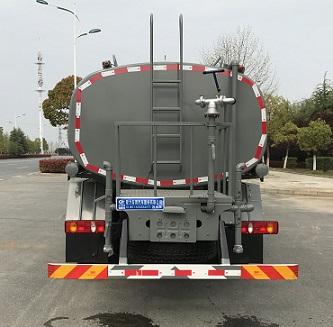 程力威牌CLW5160GSS6YT型灑水車-后部照片