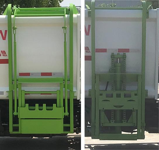 帝王環衛牌HDW5043ZZZEQ6型自裝卸式垃圾車-照片3