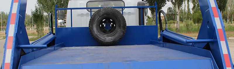 寧汽牌HLN5120ZBSE6型擺臂式垃圾車-照片3