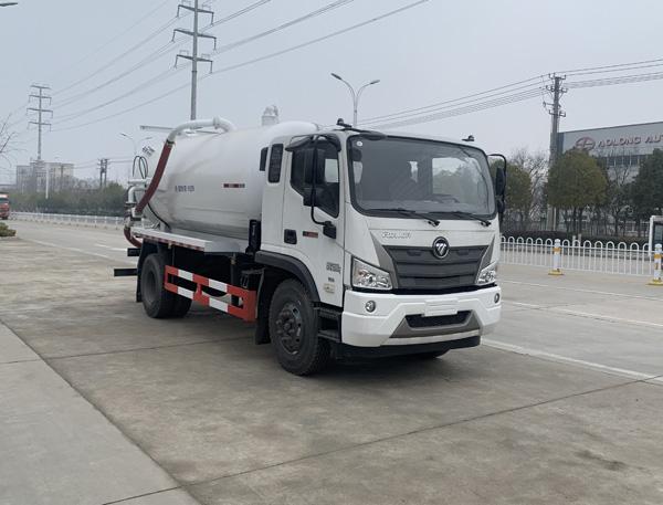 万博客户端官方网站福田欧马可10吨吸污车,10方吸污车